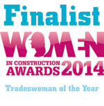 Tradeswoman of the year 2014